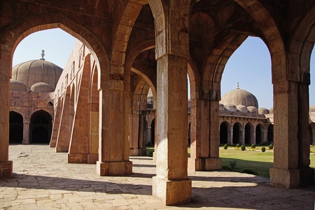 Jama Masjid in Mandu, India Stock Photo