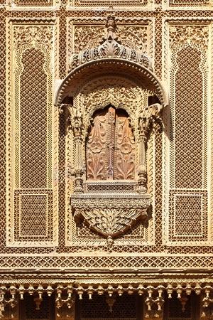 Haveli-private mansion in India. Jaisalmer city photo