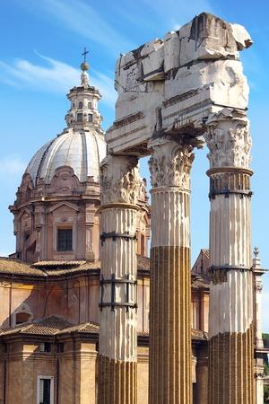 Roman Forum  Rome, italy photo