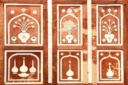 treasurer: Tomb of the treasurer of emperor  Agra, India