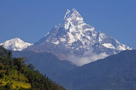 View on the Machhapuchhre 6993m  photo