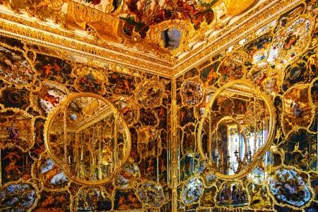 Mirror Cabinet in Wurzburger Residenze  Wurzburg, Germany Stock Photo - 14423633