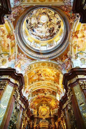 St  Peter and Paul Church in Melk Abbey, Austria