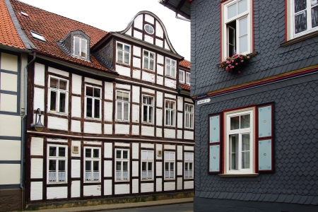 Old Fachwerk house in Wolfenbuttel   Niedersachsen, Germany  Stock Photo - 15636092
