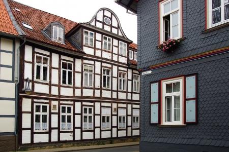 Old Fachwerk house in Wolfenbuttel   Niedersachsen, Germany Stock Photo - 15636092