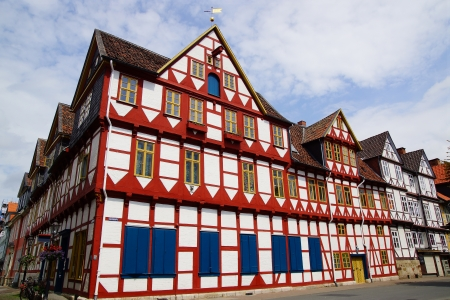 Old Fachwerk house in Wolfenbuttel   Niedersachsen, Germany  Stock Photo - 15636088