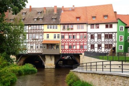 fachwerk: Old Fachwerk house with Merchants