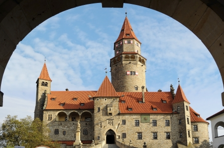 Castle Bouzov  Czech republic