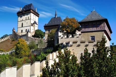 notable: Castle Karlstejn  Czech republic