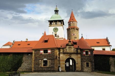 Castle Bouzov  Czech republic Stock Photo - 15670919