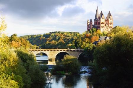 Picturesque nature panorama with Limburg Historic City. Stock Photo - 15715786