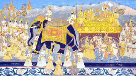 parvati: The decoration of the Jodhpur Palace  India