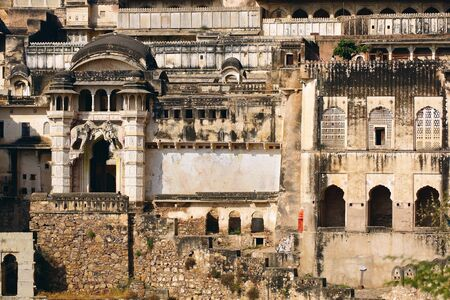 The ruins of the Bundi Palace  India Stock Photo - 15887077