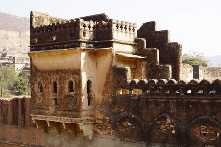 The ruins of the Bundi Palace  India photo