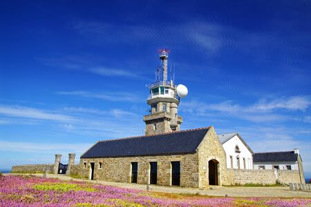 Lighthouse on Cape Sizun, Pointe du Raz  Brittany, France