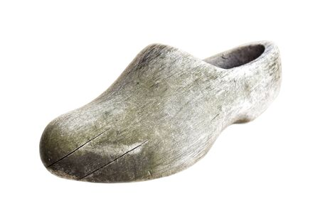 klompen: Traditional Dutch old wood shoes - klompens