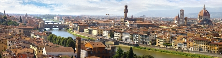 firenze: Panorama of Florence