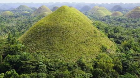 bohol: Chocolate Hills, Bohol Island, Philippines