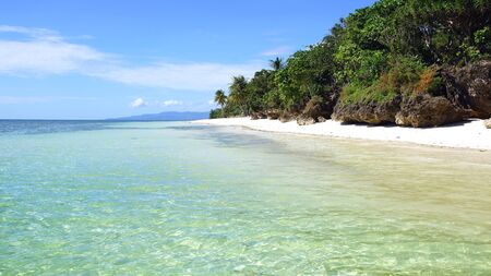 Tropical beach in Anda, Bohol Island, Philippines photo