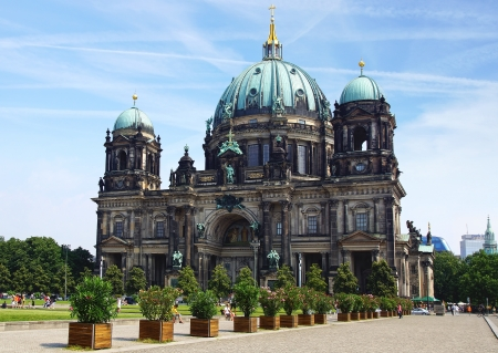 Berlin Cathedral, Evangelical Church. Germany