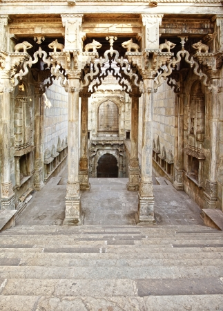 ki: Raniji ki Baori step wells. Bundi, Rajasthan, India.
