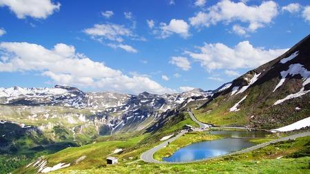 grossglockner: Grossglockner is a panoramic road in Austria.