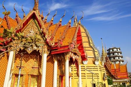 Wat Tham Suea.  Kanchanaburi, Thailand photo