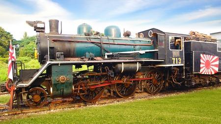 Old Steam train  Khanchanaburi, Thailand