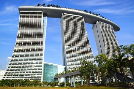 Marina Bay Sands and Supertree Grove, Singapore