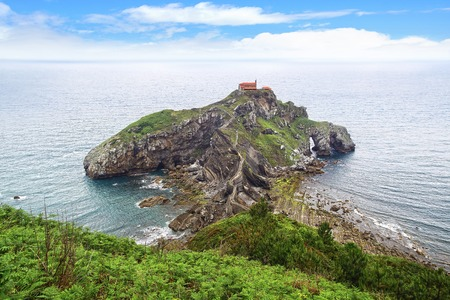 spanish culture: The San Juan de Gaztelugatxe  Basque Country, Spain