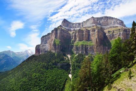 ordesa: Ordesa National Park  Pyrenees, Spain
