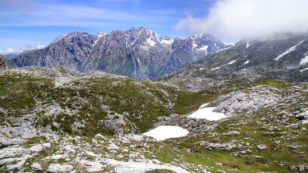 picos: Picos de Europa National Park  Cantabria, Spain Stock Photo