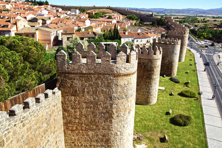 fortify: Old Fortress Walls, City of Avila, Spain