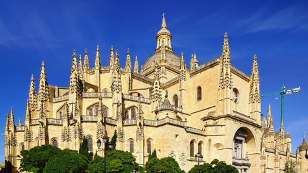 segovia: Segovia Cathedral is a Roman Catholic religious church in Segovia, Spain.