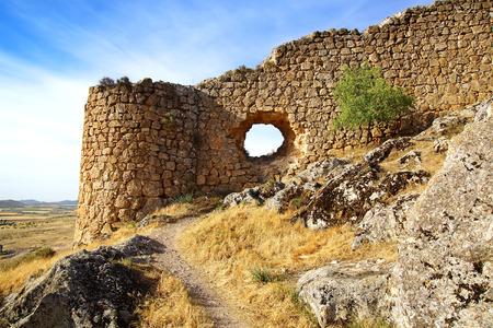 Ancient castle in Consuegra province of Toledo, Castile-La Mancha, Spain photo