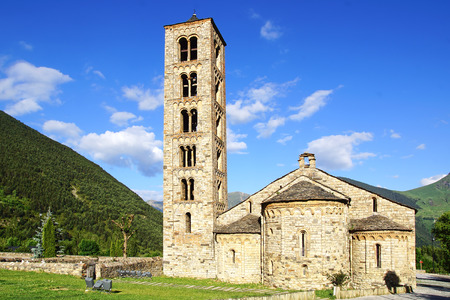 Church of St. Clement of Tahull. Spain                          photo