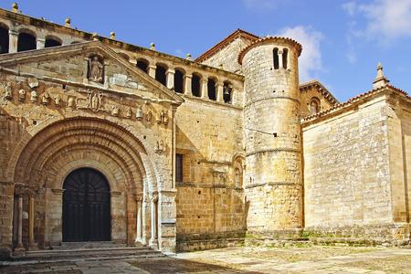 juliana: Saint Juliana´s collegiate church.  Santillana del Mar