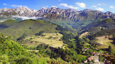 Picos de Europa National Park. Cantabria, Spain