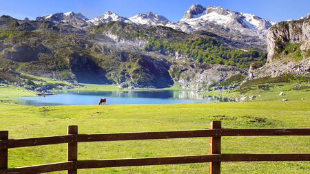 Picos de Europa National Park. Cantabria, Spain photo
