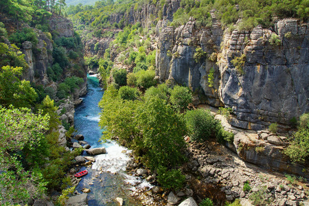Koprulu Canyon national park in Antalya, Turkey photo
