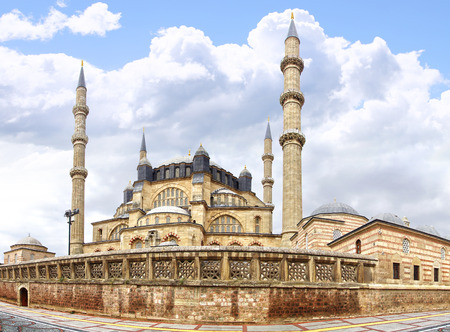 architectural heritage of the world: Selimiye Mosque, designed by Mimar Sinan in 1575.  Edirne