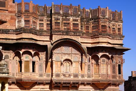 haveli: The Haveli private mansion in Jodhpur, India Editorial