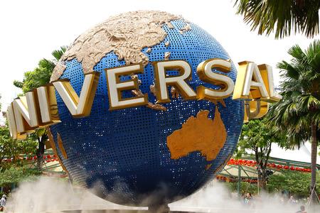 Universal Studios Singapore op Sentosa Island, Singapore.