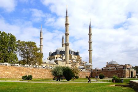 selimiye mosque: Selimiye Mosque, designed by Mimar Sinan in 1575.  Edirne, Turkey Editorial