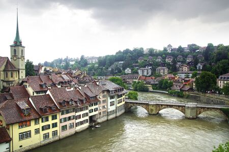 town centre: The medieval town centre of Berne in Switzerland. Editorial