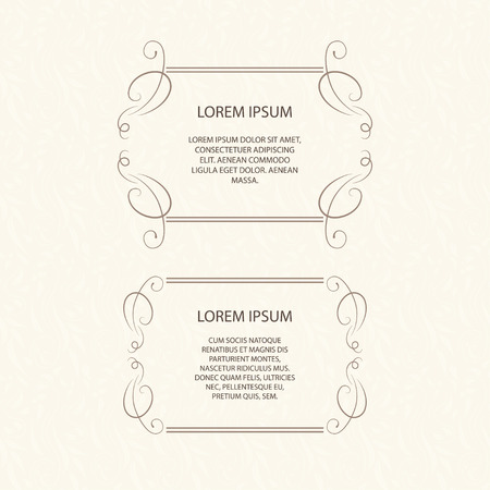 vector element: Vector decorative frame. Elegant element for design template, place for text.Floral border. Lace decor for birthday and greeting card, wedding invitation.