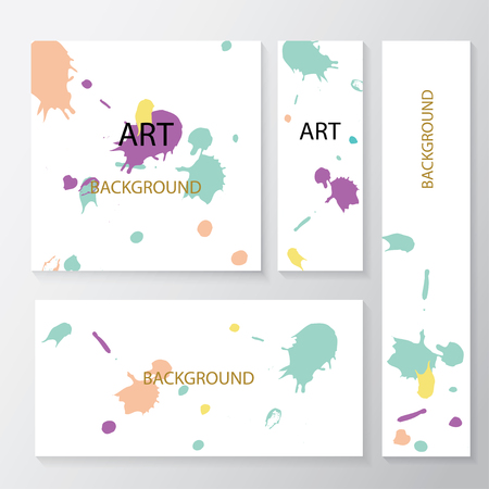 website backgrounds: Set of abstract creative  headers for website. Abstract backgrounds and banners.