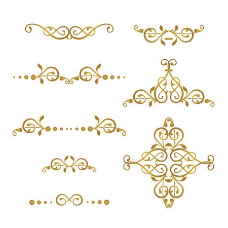 Cadre décoratif de vecteur. Elégant élément pour le modèle de conception, place pour le texte. Bordure florale. Décor de dentelle pour l'anniversaire et carte de voeux, invitation de mariage. Vecteurs