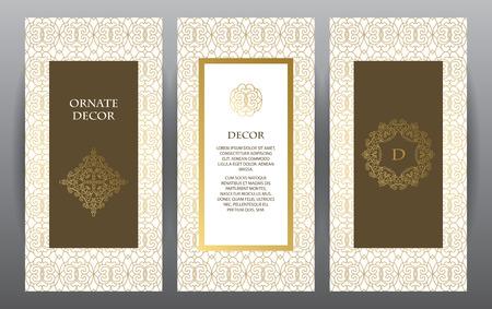 Inzameling van ontwerpelementen, labels, icoon. Sjabloon frame voor het bewaren van de datum, verjaardag, wenskaart, huwelijksuitnodiging, folder, poster.