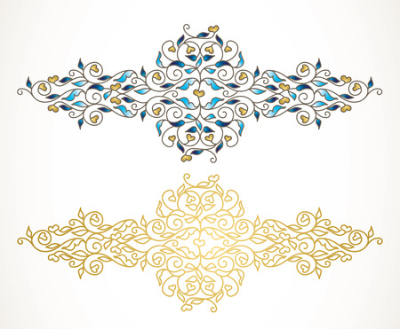 Vector element, luxury ornament. Illustration